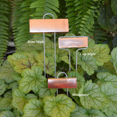 Copper Plant Markers