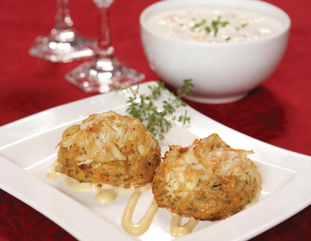 Crab Cakes and Clam Chowder