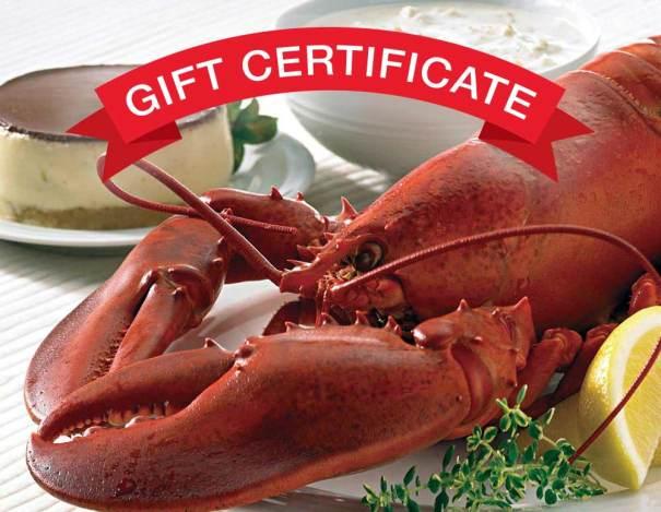 New England Feast Certificate
