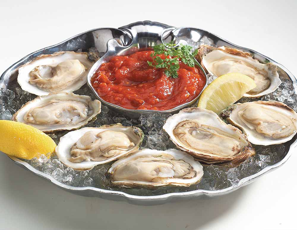raw oysters delivered