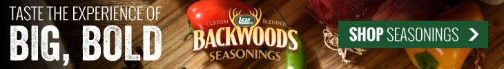 Taste the Experience of Big, Bold Backwoods Flavor