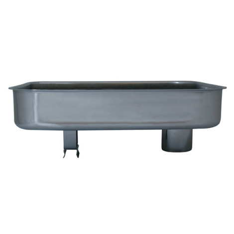 Part - Stainless Steel Meat Pan for #8 Big Bite Grinder #779A