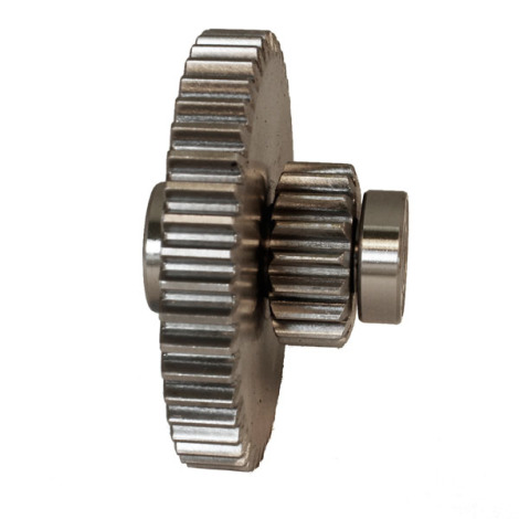Part - Step Gear with 2 Bearings for # 5, 8 & 12 Big Bite Grinders # 777, 779 & 780
