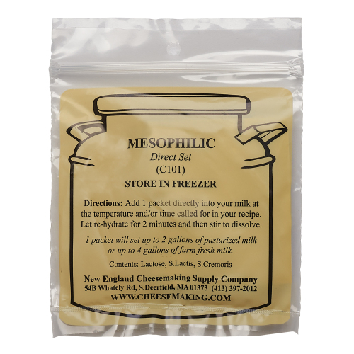Mesophilic Shelf Stable Culture