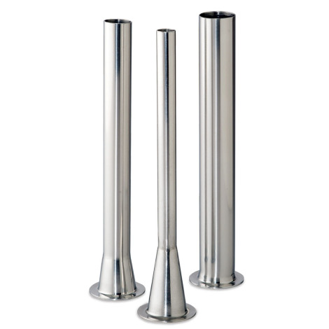 """Stainless Steel Stuffing Tubes With 1- 9/16"""" Base"""