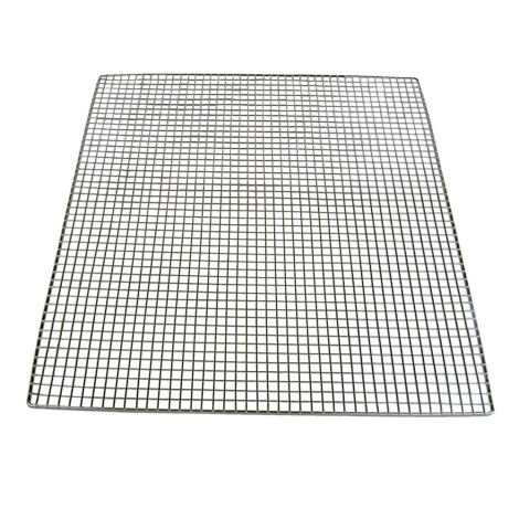 """10 Pack Stainless Steel Shelves with 1/4"""" Holes"""