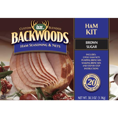 Backwoods Ham Kit - Brown Sugar