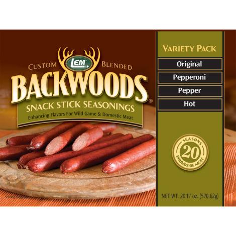 Backwoods Snack Stick Seasoning Variety Pack