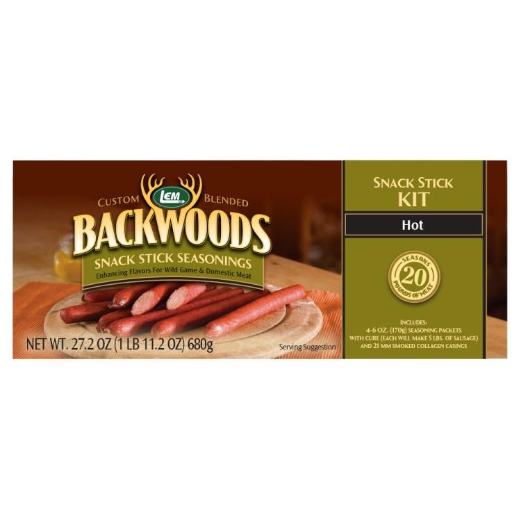 Backwoods Hot Snack Stick Kit