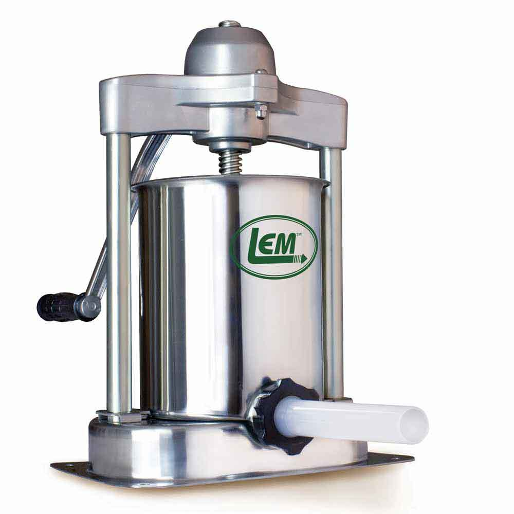 LEM Products 5 Pound Stainless Steel Vertical Sausage Stuffer