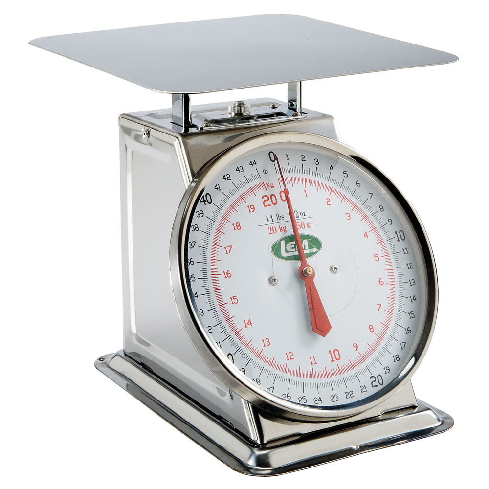 44 lb stainless steel scale lem products