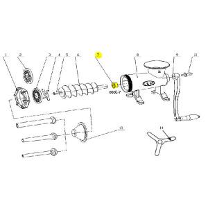 Schematic - Bushing for # 32 Bolt Down Grinder # 060