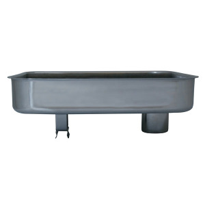 Part - Stainless Steel Meat Pan for # 5 Big Bite Grinder # 777