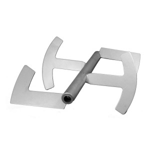 Part - Axle with Paddles for 20 lb. Manual Mixer # 654