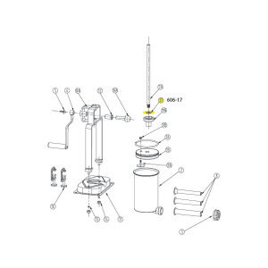 Schematic - Washer for 5 lb. Vertical Stuffer # 606 & 606SS