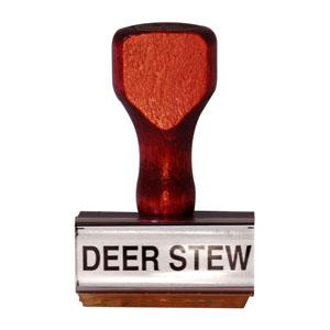 Deer Stew Stamp