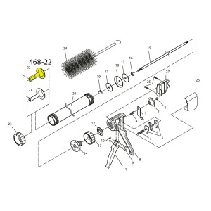 Schematic - Jerky Cannon Jerky Replacement Nozzle