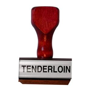 Tenderloin Stamp