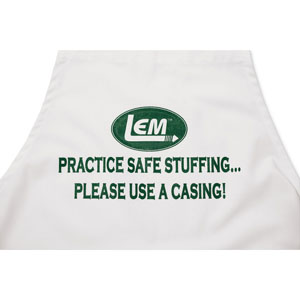 LEM Practice Safe Stuffing Apron