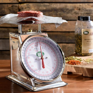 44 lb. Stainless Steel Scale