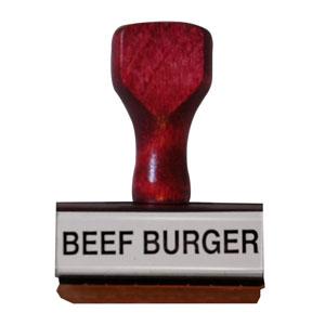 Beef Burger Stamp