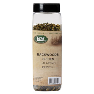 Backwoods Dried Jalapeno Peppers