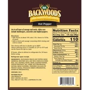 High Temperature Hot Pepper Cheese Nutritional Info