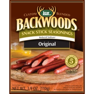 Backwoods Reduced Sodium Original Snack Stick Seasoning
