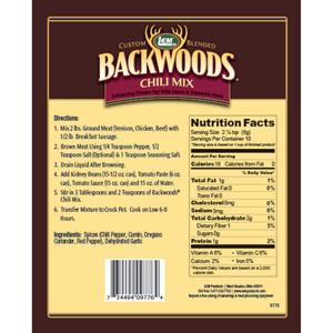 Backwoods Chili Mix