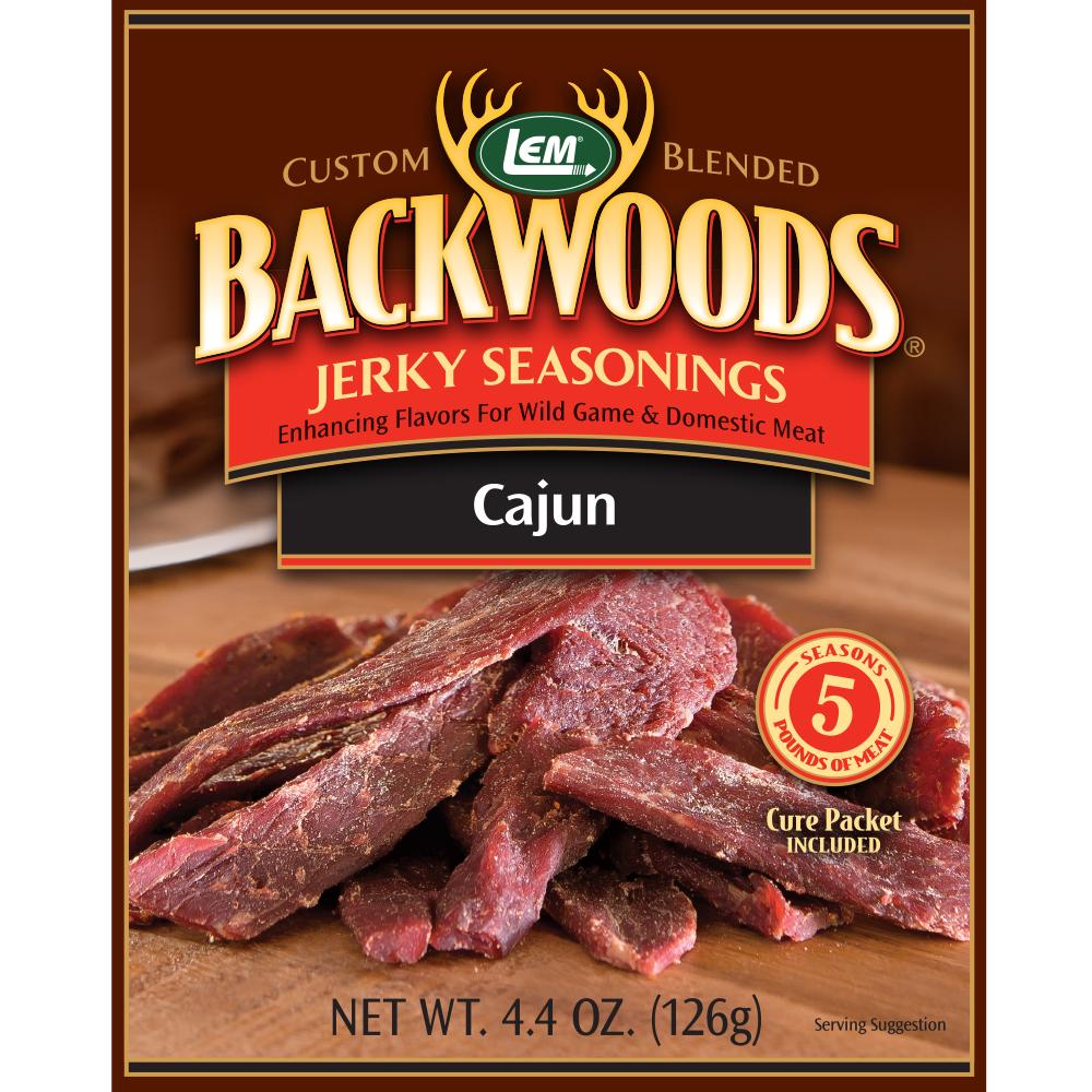Backwoods Cajun Jerky Seasoning