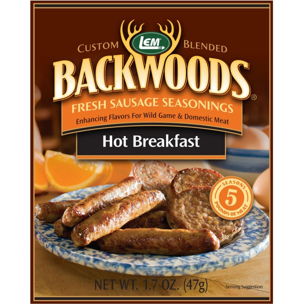 Backwoods Hot Breakfast Fresh Sausage Seasoning