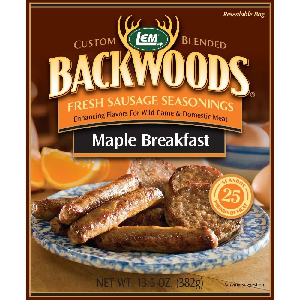 Backwoods Maple Breakfast Fresh Sausage Seasoning - Makes 25 lbs.