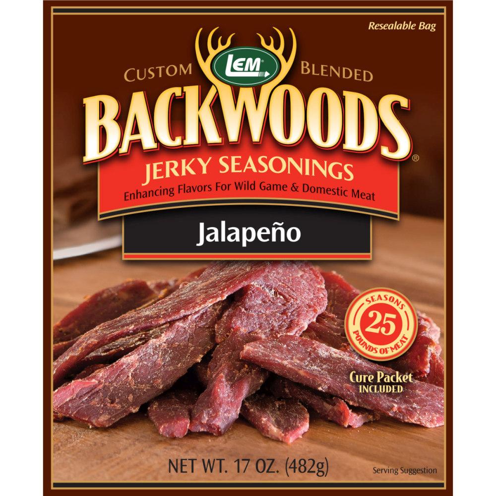 Backwoods Jalapeno Jerky Seasoning - Makes 25 lbs.