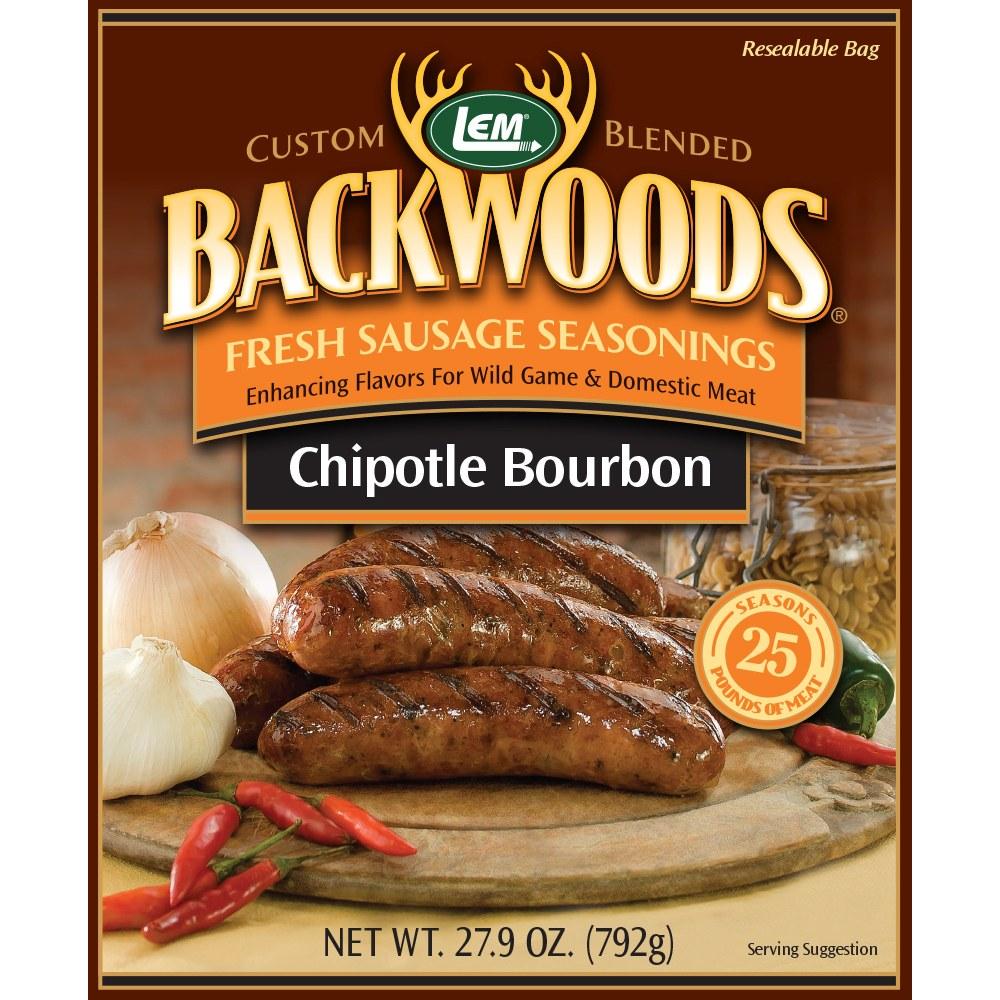Backwoods Chipotle Bourbon Fresh Sausage Seasoning - Makes 25lbs