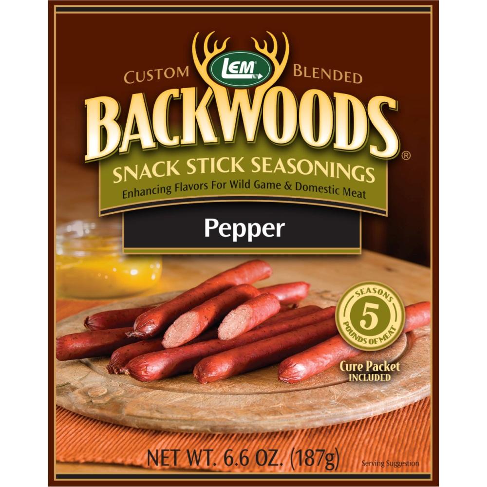 Backwoods Pepper Snack Stick Seasoning