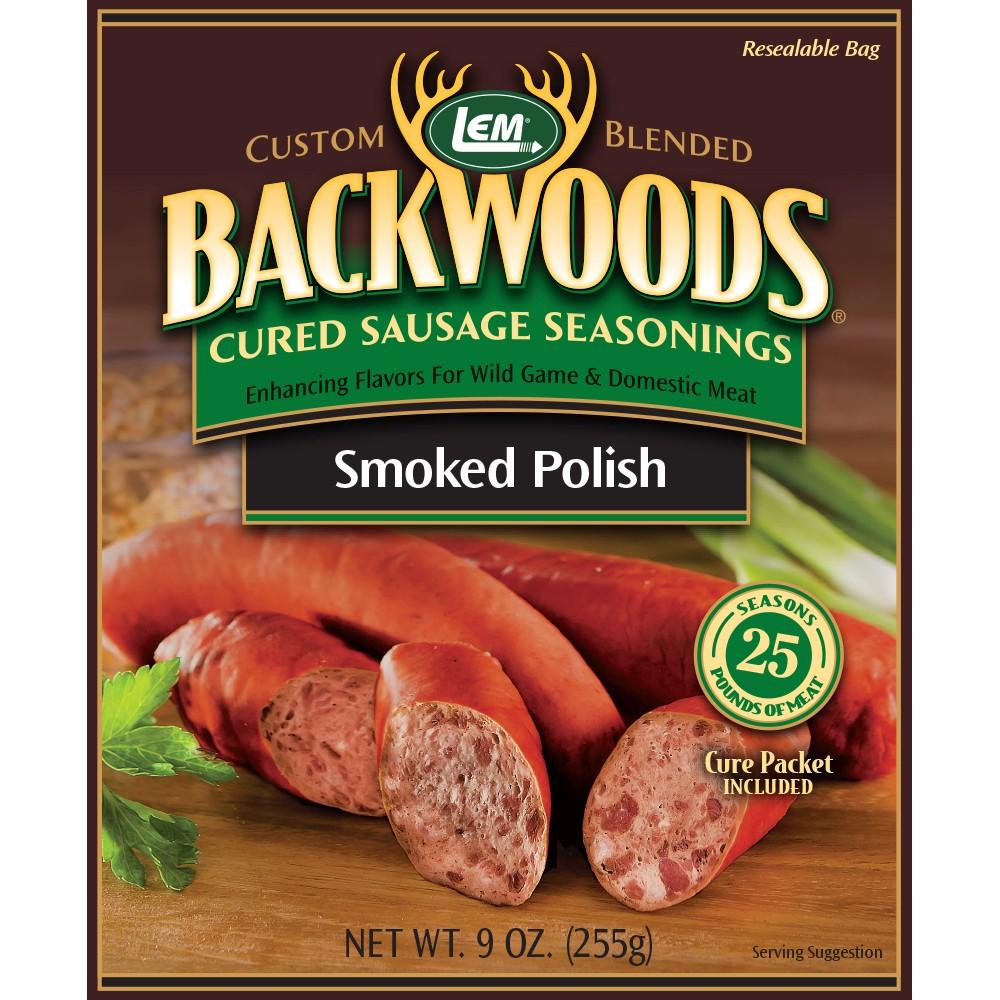 Backwoods Smoked Polish Cured Sausage Seasoning - Makes 25 lbs.