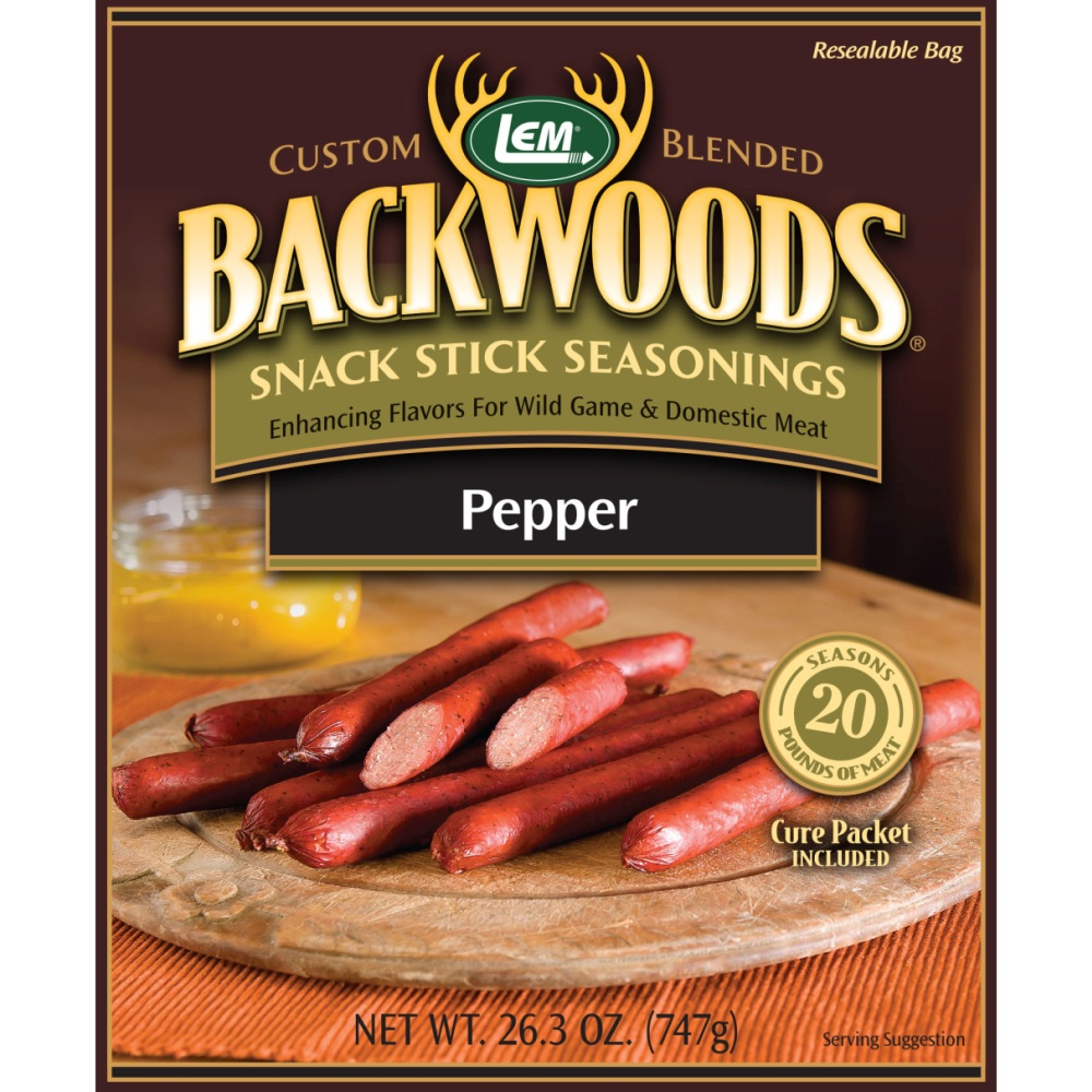 Backwoods Pepper Snack Stick Seasoning - Makes 25 lbs.