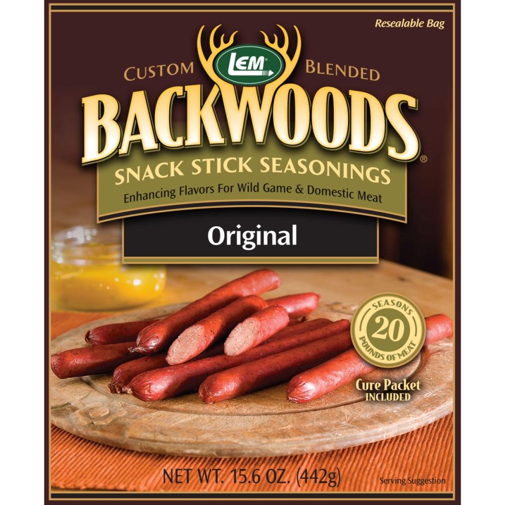 Backwoods Original Snack Stick Seasoning - Makes 25 lbs.