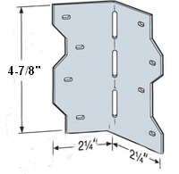 """Strong Tie LS50 4-7/8"""" Skewable Reinforcing Angle"""