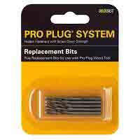 Pro Plug® for Wood #8 replacement bit 5 pak