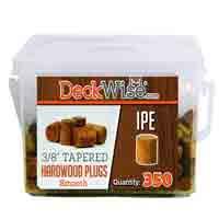 """DeckWise® Ipe Plugs 3/8"""" diameter"""