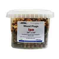 Manasquan™ Hardwood Ipe Plugs 3/8