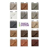 Fascia board swatches