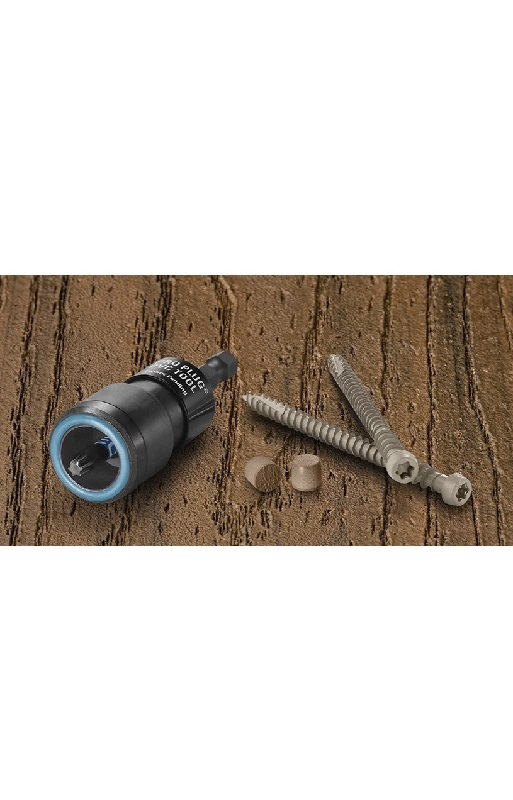 Pro Plug System for Azek 20sq ft with Epoxy Screws