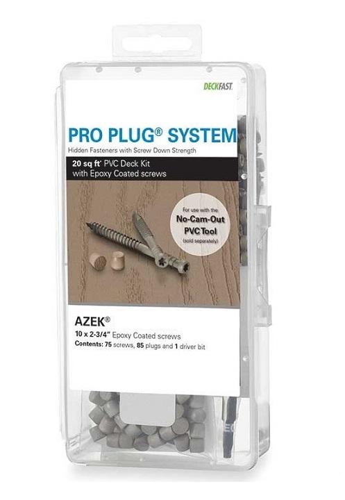 Pro Plug® System with Epoxy Screws for use with AZEK® Decks