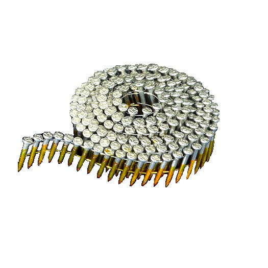 15° Knurled Stainless Steel Wire Coil Ballistic Pins
