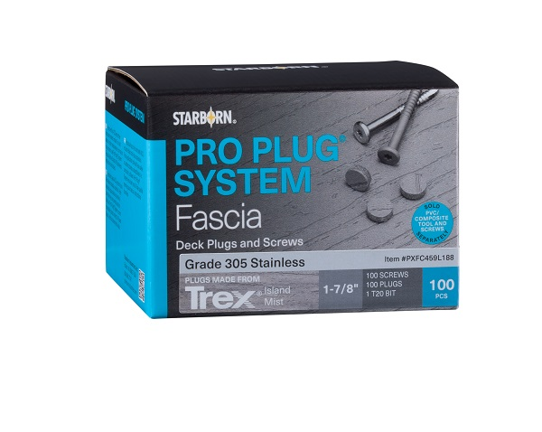Pro Plug Fascia Plugs and Screws by Starborn