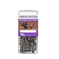 """Closeout Sale -Fascia System Screws #9 x 1-7/8"""" 305SS 100 pc #73 Java"""