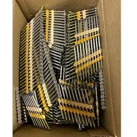 """2-1/2"""" x .120"""" A/T 22° Plastic Strip Nails 304SS 1893pcs"""