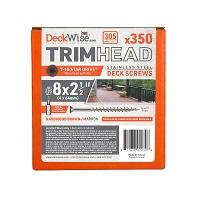 Deckwise Hardwood Brown Trim Screws 305SS